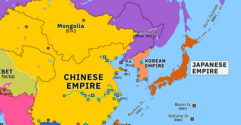 map of ports in china Attack On Port Arthur Historical Atlas Of Asia Pacific 8 map of ports in china