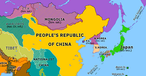 People S Republic Of China Historical Atlas Of Asia Pacific 1