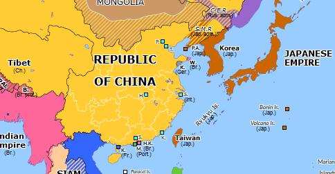 Yuan Shikai And The Republic Of China Historical Atlas Of Asia