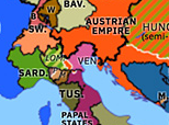Europe 1848: First Italian War of Independence