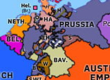 Europe 1850: Erfurt Union