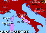 Historical Atlas of Europe 69: Year of the Four Emperors: Vespasian