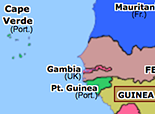 Sub-Saharan Africa 1960: French Withdrawal from West Africa