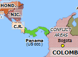 South America 1990: US invasion of Panama