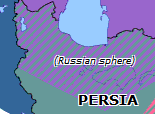 Southern Asia 1907: Anglo-Russian Entente