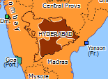 Southern Asia 1948: Indian conquest of Hyderabad